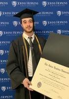 A photo of Salvatore, a tutor from Johns Hopkins University