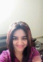 A photo of Sarah, a tutor from Mahatma Gandhi University