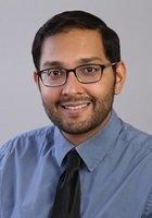 A photo of Danish, a tutor from University of North Carolina at Chapel Hill