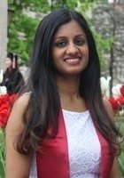 A photo of Nivedha, a tutor from Indiana University-Bloomington