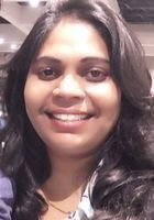 A photo of Sashi, a tutor from Madras University INDIA