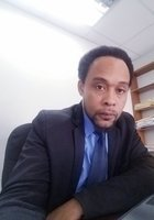 A photo of Denarto, a tutor from University of the West Indies
