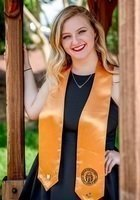 A photo of Amber, a tutor from Kennesaw State University
