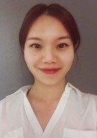A photo of Lingjun, a tutor from Jian qiao university in China