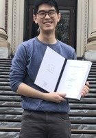 A photo of Jongmyung, a tutor from Harvard University