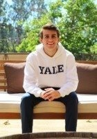 A photo of Aaron, a tutor from Yale University