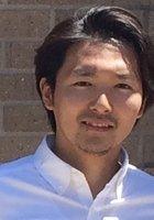 A photo of Katsuya, a tutor from Komazawa University