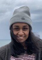 A photo of Sanjana, a tutor from Harvard University