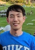 A photo of Jiwoo, a tutor from Duke University