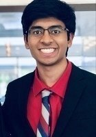 A photo of Nitin, a tutor from Carnegie Mellon University