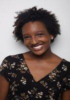A photo of Jada, a tutor from Washington University in Saint Louis