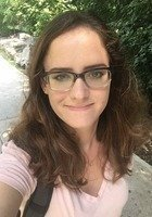 A photo of Rachel, a tutor from Stevenson University