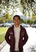 A photo of Santiago, a tutor from Duke University