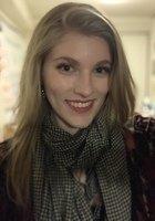 A photo of Sarah, a tutor from Wesleyan University