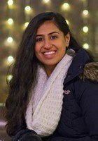 A photo of Amrita, a tutor from Johns Hopkins University
