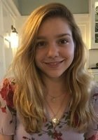 A photo of Sophie, a tutor from Brown University