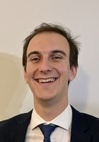 A photo of Osmel, a tutor from Johns Hopkins University