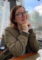 A photo of Olivia, a tutor from Central Washington University
