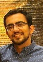 A photo of Kamil, a tutor from Johns Hopkins University