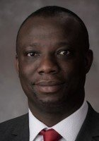 A photo of Prince, a tutor from University of Ghana