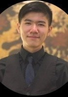 A photo of Zhuo Biao, a tutor from Vassar College