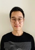 A photo of Yuanxin, a tutor from The Chinese University of Hong Kong