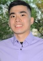 A photo of Minh, a tutor from Iowa State University