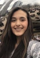 A photo of Christine, a tutor from Catholic University of America