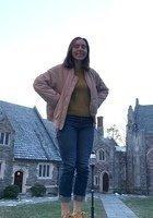 A photo of Nina, a tutor from Princeton University