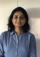 A photo of Smita, a tutor from Delhi University India