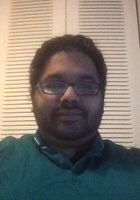 A photo of Vinod, a tutor from University of Maryland-College Park