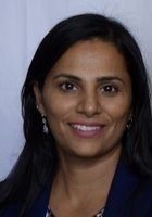 A photo of Neeru, a tutor from CUNY Hunter College