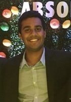 A photo of Shivam, a tutor from University of Connecticut