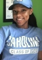 A photo of Isha, a tutor from University of North Carolina at Chapel Hill