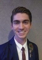 A photo of Jonah, a tutor from Utah State University