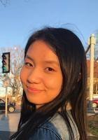 A photo of Justine, a tutor from Cornell University