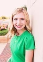 A photo of Kathleen, a tutor from Oklahoma Baptist University