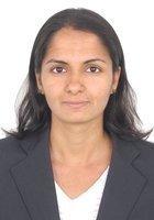 A photo of Arathi, a tutor from Bangalore University