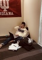 A photo of Aaron, a tutor from Indiana University-Bloomington