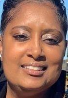 A photo of April, a tutor from Clark Atlanta University