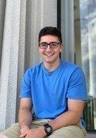 A photo of Noah, a tutor from Washington & Jefferson College