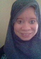 A photo of Asiya, a tutor from Peirce College