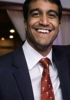 A photo of Ramachandra, a tutor from Boston College