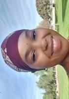 A photo of Tahira, a tutor from Roseman University of Health Sciences