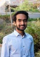 A photo of Rohit, a tutor from University of California-Berkeley