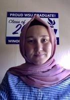 A photo of Madina, a tutor from Miras University