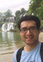 A photo of Pengke, a tutor from Tsinghua University