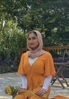 A photo of Fatima, a tutor
