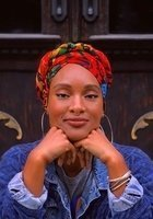 A photo of Naajidah, a tutor from CUNY New York City College of Technology