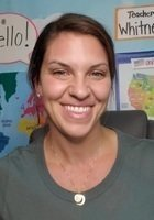 A photo of Whitney, a tutor from Florida State University